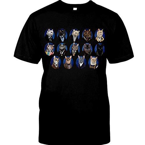 Funny Cats 13 Doctor Who Movie Film TV Vintage Gift Men Women Girls T-Shirt