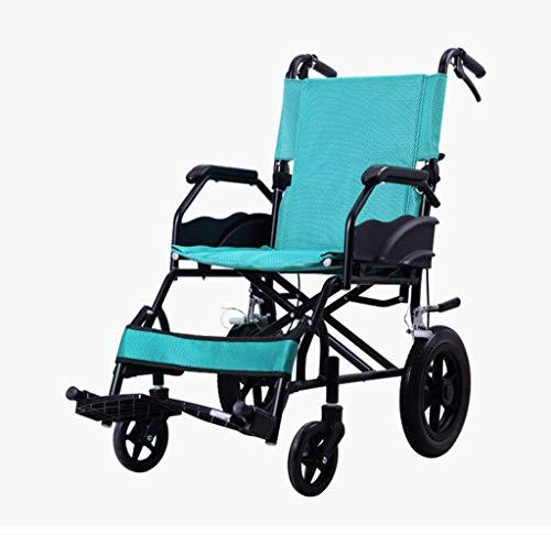 L-Y Huishoudelijke Opvouwbare Softseat Eenvoudig voor de Oudere Rolstoel voor de Oudere Draagbare Fietskar voor gehandicapten