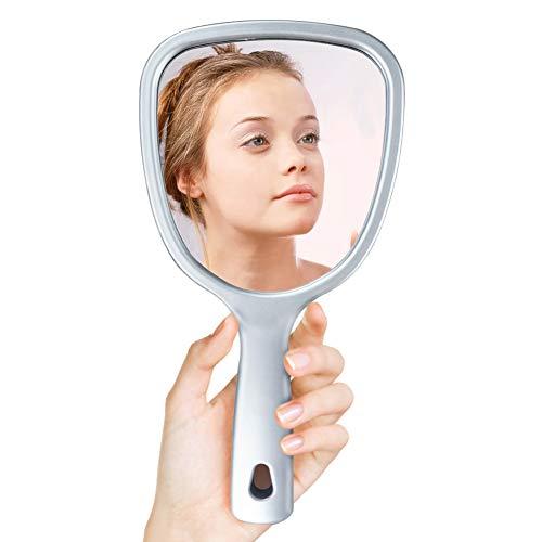 UMI. by Amazon Espejo de Mano de Doble Cara con Aumento 2X / 3X, Espejo de Maquillaje