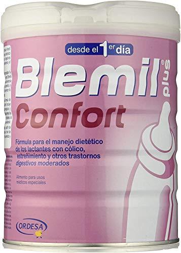 Blemil Plus – Leche de Inicio Confort, Tratamiento del Cólico y Estreñimiento, 800 gr