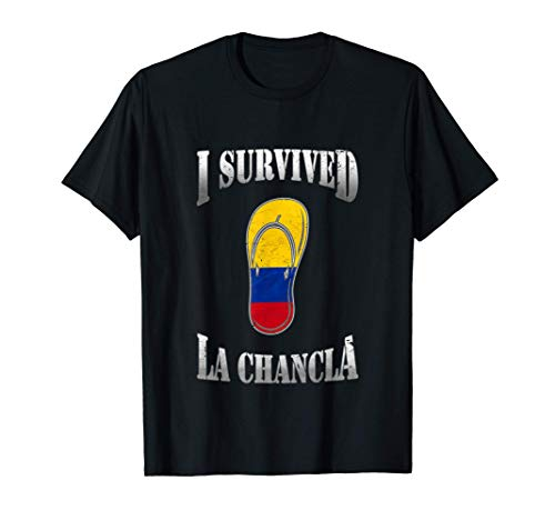 Funny Spanglish Spanish Colombian Joke Camisas Chistosas Camiseta