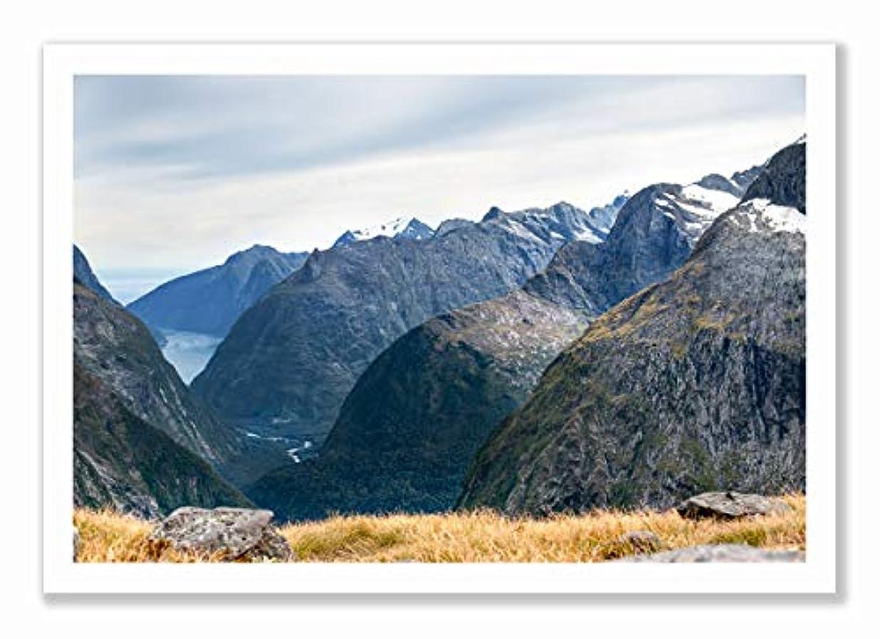 Fiordland New Zelander Black Satin Aluminium Frame with Mount, Multicolored, 40x60 dchphudf2