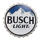 2but Busch Light Decorative Bottle Caps Metal...