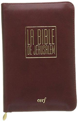 "BIBLE DE JERUSALEM ""EDITION POCHE"""
