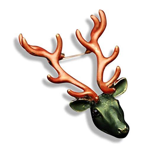 YUXIwang Broche Novedad Broches de las Mujeres Broches Broche Cardigan Suéter Gran Pin Bufanda Hebilla Broche de Navidad Broche Accesorios Regalos