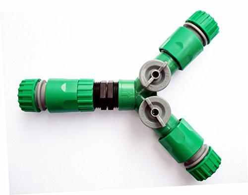 Generic dyhp-a10-code-4263-class-1 -- Tuyau Connecteurs TDR robinets + 3 femelle 3 FEM à clipser pour tuyau 3 voies avec 2 O Répartiteur en ligne se sp avec on/off 2 N 3 Voies – -dyhp-uk10–160819–2290