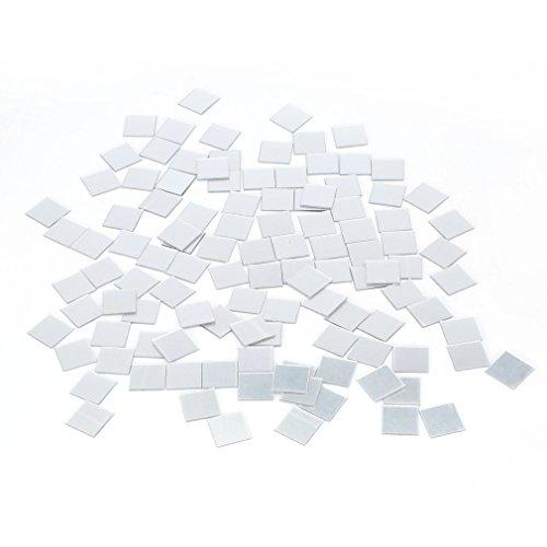 Winbang 100 Pezzo Specchio mattonelle della Parete della Decalcomania 3D Mosaico Room Decor Stick On Moderna