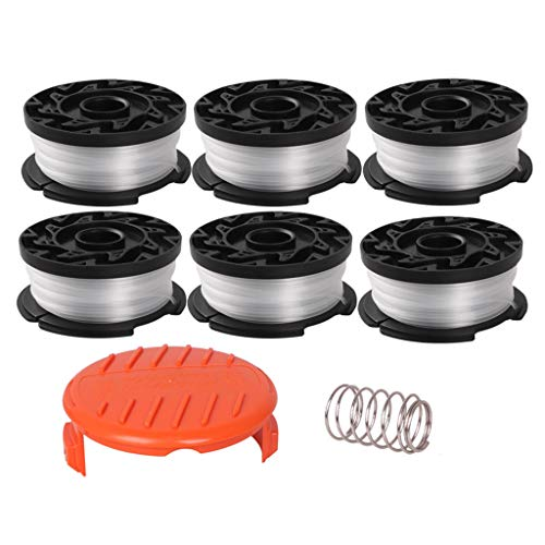 Find Bargain Huluda Replacement Spool Scap Cover for Black Line String Spring Trimmer Weed Eater Ref...
