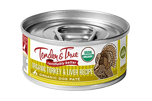 Tender & True Organic Turkey & Liver Recipe Canned Dog Food (Pack of 24)