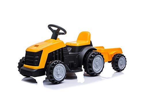 Tractor eléctrico para niños con Remolque 22W 3km/h