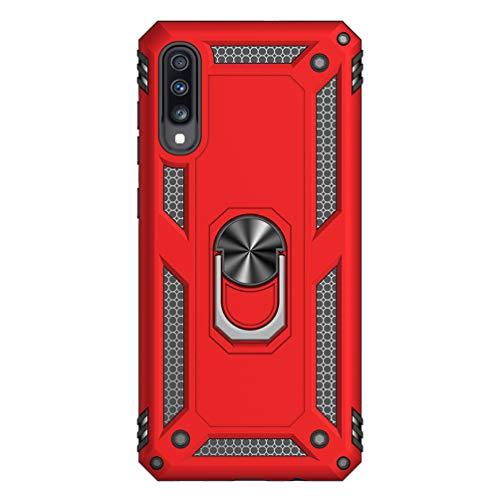 Vogu'SaNa - Carcasa de silicona para Samsung Galaxy A70, con soporte para el coche