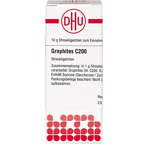 DHU Graphites C200 Streukügelchen, 10 g Globuli