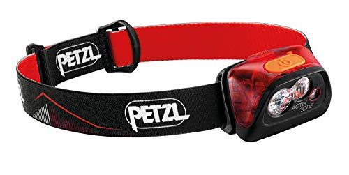 PETZL Actik Core Frontal, Unisex, Rojo, unitario