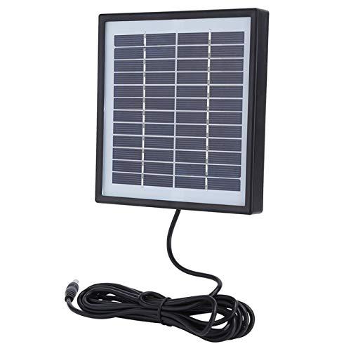 Banco de energía solar, módulo de panel solar de cargador solar de polisilicio con borde para pequeños electrodomésticos de energía para acampar al aire libre para iluminación solar de