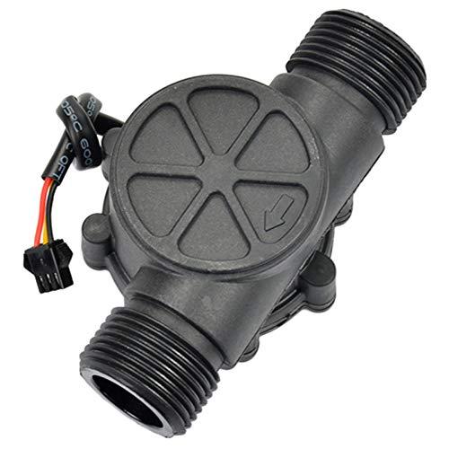 SNOWINSPRING 1Pcs Sensor de Flujo de Agua DN25 DC3.5-24V 1 Pulgada 2-100L / Min Medidor de...