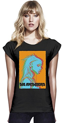 Die Antwoord Painted Photo Womens Continental Rolled Sleeve T-Shirt Small