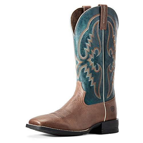ARIAT Men's Round Pen Western Boot Clean Saddle Size 7 D/Medium Us