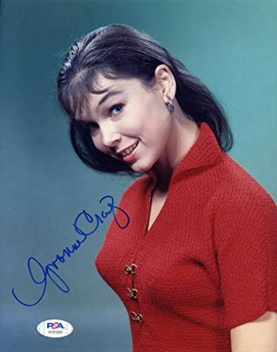 Yvonne Craig PSA DNA Coa Signed 8x10 Photo Autograph
