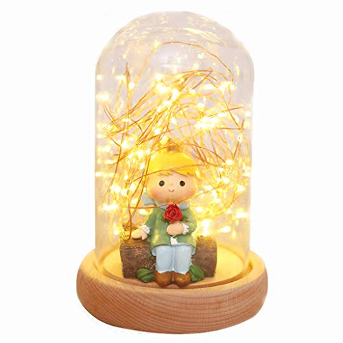XUANLAN Veilleuse Nordic Starry Sky Chambre Lampe de Chevet enfichable Lampe de Chevet enfichable Lampe créative
