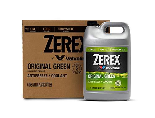 Zerex Original Green Antifreeze/Coolant 1 GA, Case of 6