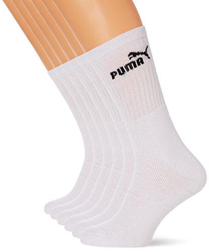 Puma Chaussettes de Sport/Tennis (Lot de 6 Paires)...