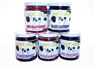 Cow Jam Gift Pack 5-12 Oz Jars