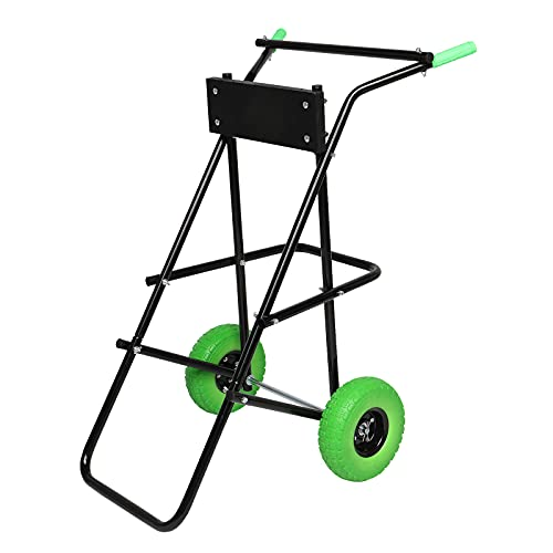 TUFFIOM Outboard Boat Motor Stand Cart, Engine Carrier Dolly for Storage, 440lbs Weight Capacity