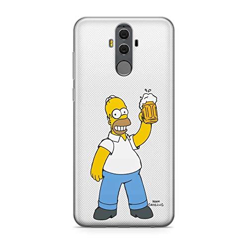 Finoo Handyhülle kompatibel für Huawei Mate 10 Pro - Hülle mit Motiv und Optimalen Schutz TPU Silikon Tasche Case Cover Schutzhülle - Bier Liebe