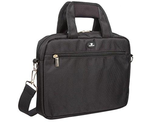 Case4Life Schwarz 8-Zoll bis 11-Zoll Tablet Schulter Messenger Bag/Tasche für Dell Venue 11 Pro 5000 Series / 7000 Series, Dell XPS 10, Dell Venue 8 Pro