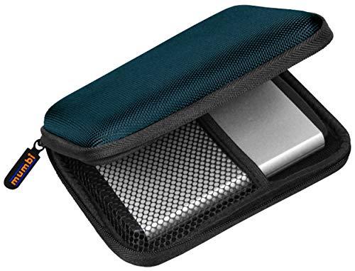 """Mumbi Extern Case - Funda de disco duro (2.5""""), azul"""