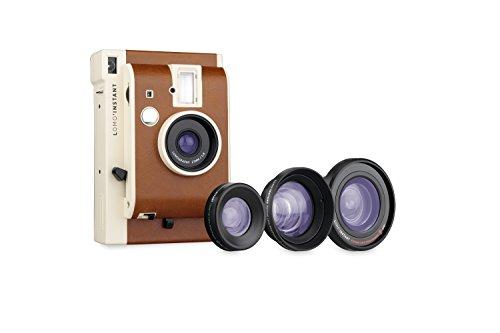 Lomography li800lux Lomo'Instant Cámara     Instantánea con 3 lentes