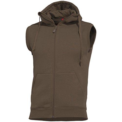 Pentagon Thespis Sweater Weste Terra Brown, L, Dunkelbraun