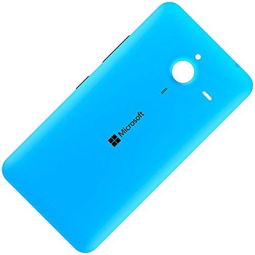 Microsoft Lumia 640 XL LTE original Akkudeckel Cyan Inklusive Laut/Leise und Ein/Aus Taste