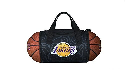 NBA LA Lakers Collapsible Basketball to Lunch Bag Authentic