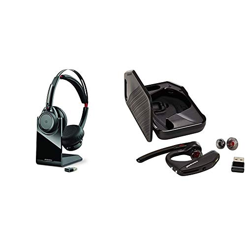 Best Deals! Plantronics Voyager Focus UC Bluetooth USB B825 202652-01 Headset with Active Noise Canc...