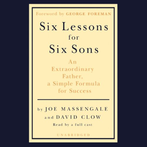 Six Lessons for Six Sons cover art