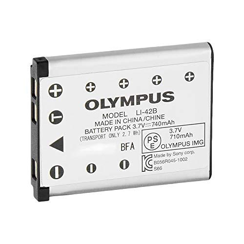 Olympus LI-42B Rechargeable Battery (Silver)