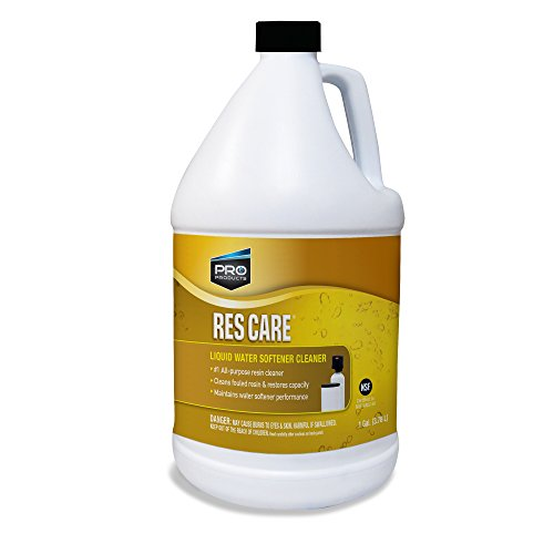 Res Care Liquid Water Softener Cleaner – Cleans Fouled Resin – Restores Softener Efficiency – Restores Resin Capacity – Extends Water Softener Life – Removes Contaminants