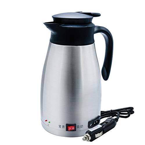 Creative Light- 1300ML Voiture électrique Tasse Doublure 12V / 24VSUS304 en Acier Inoxydable Facile à Utiliser Pot de Chauffage de contrôle de température Intelligent pour Petite Voiture Grand Camion