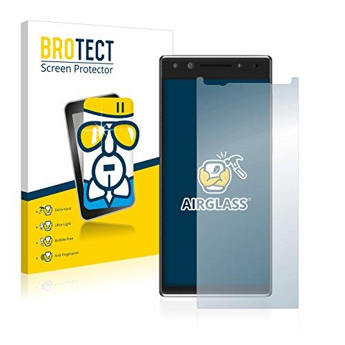 BROTECT Panzerglas Schutzfolie kompatibel mit Alcatel 5 - AirGlass, extrem Kratzfest, Anti-Fingerprint, Ultra-transparent
