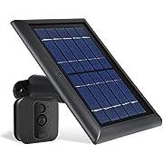 Wasserstein Solarmodul kompatibel mit Blink XT und Blink XT2 Außenkamera (schwarz)