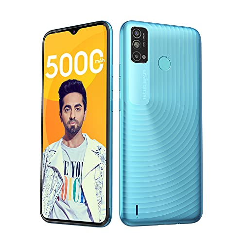 "Tecno Spark Go 2021 (Maldives Blue, 2GB RAM, 32GB Storage) | 5000mAh| 6.52"" Display Smartphone 5"
