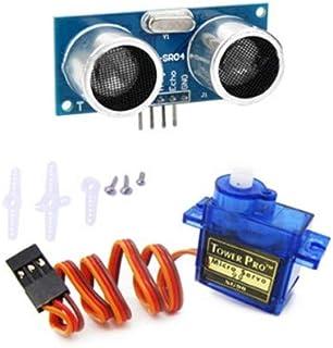 Sg90 Ultrasonic Combo Kit, Multi-color, Combo of 2