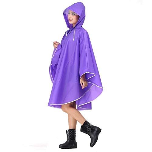 RYY Regenjassen Regenjas, Transparant Getij Merk Regenjas Volwassen Lopen Student Full Body ReisPoncho