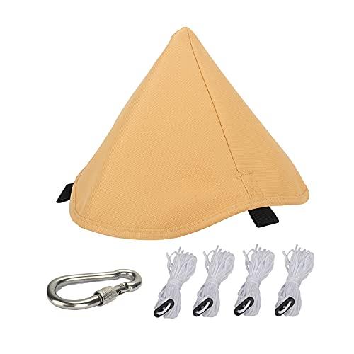 タープ連結 ワンポールテント ティピーテントと タープの連結 防水性 タープアダプター オックスフォード布製 テント用 アクセサリー 収納が簡単