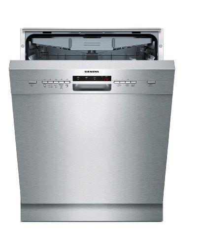 Siemens SN45L580EU iQ500 - Lavavajillas bajo encimera (A++, 13 plafones a medida, 60 cm, acero inoxidable, limpiador automático, Vario Speed, EcoPlus)