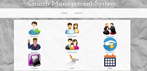 Church Management Software Professional System; Church Facilities, Office, Bookkeeping and Finances Administration (Online Access Code Card) Windows, Mac, Smartphone