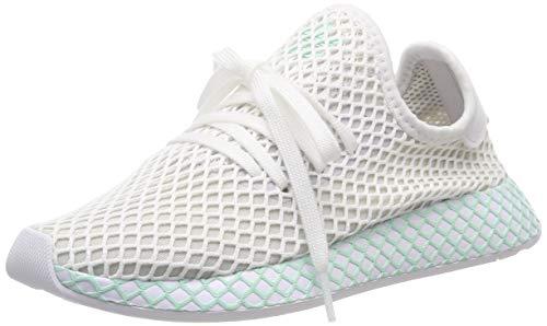 adidas Damen Deerupt Runner W, Laufschuhe, Weiß (Ftwr White/Grey One F17/Clear Mint Ftwr White/Grey One F17/Clear Mint), 40 EU (6.5 UK)
