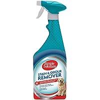 Simple Solution quitamanchas y olores para Perros, 750 ml