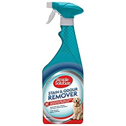 Simple Solution Dog Stain & Odour Remover is the only formula which contains both Pro-Bacteria and enzymes which effectively remove stains and odours. Simple Solution is completely safe for use around pets and children. The formula has been specifica...